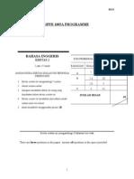 English Language-Year4 Paper II