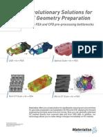 CAE on Top Revolutionary Solutions4CAE Geometry Preparation