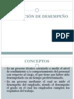 EVALUACIÓN DE DESEMPEÑO UCh