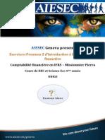 AIESEC Exos d'exam II Compta financière I