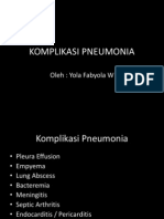 Komplikasi Pneumonia