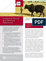 Livestock Policy and Poverty Reduction