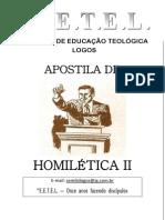 Contemporaneidade na História da Pregação.
