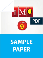 Class 9 IMO Sample Paper