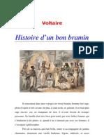 Voltaire = Histoire d'un bon bramin