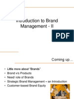 Intro to Brand