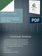 Papeles administrativos