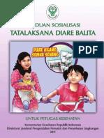 Buku Panduan Sosialisasi Tata Laksana Diare Balita 2011