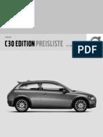 Volvo C30 Edition