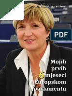 """Bilten - """"Mojih prvih 6 mjeseci u Europskom parlamentu"""""""