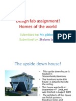 design fab homes of the world assignment