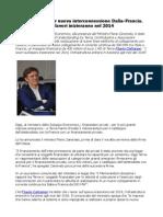 Flavio Cattaneo Terna accordo interconnessione Italia-Francia inizio lavori 2014