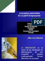 PRESENTRACIÒN-de  CONCEPTOS PERFIL EMPRESARIAL