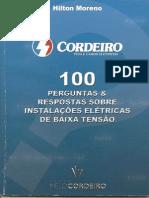 100 perguntas sobre instalação predial-cordeiro
