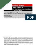 Friedrich Engels - Nota Prévia a «A Guerra dos Camponeses Alemães»