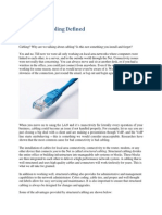Structured Cabling Defined