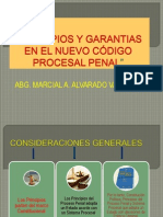 PRINCIPIOS Y GARANTIAS EN EL NUEVO CÓDIGO NCPP MAAV