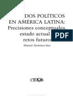 Manuel Alcántara Sáez - Partidos políticos en América Latina