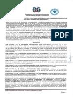 Convenio entre PROSOLI y la Sociedad Dominicana de Psiquiatría