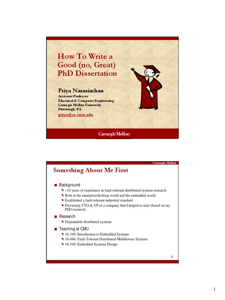 How to write a dissertation proposal in philosophy