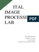 Digital image processing Lab manual