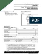 d 2581 Data Sheet