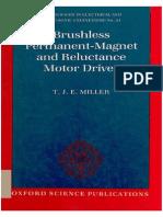K.J.millER (Brushless Permanent Magnet and Reluctance Motor Drives)