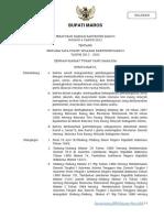Peraturan Daerah Kabupaten Maros Nomor 4 Tahun 2012 Tentang Rencana Tata Ruang Wilayah Kabupaten Maros Tahun 2012 - 2032