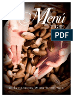 Guía Gastronómica Tigre 2014