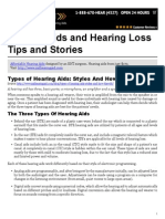 Hearing Aids and Hearing Loss Tips and Stories