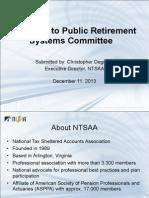 NTSAA Iowa Testimony
