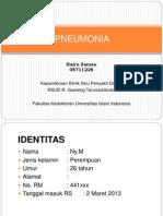Pneumonia Pada Kehamilan
