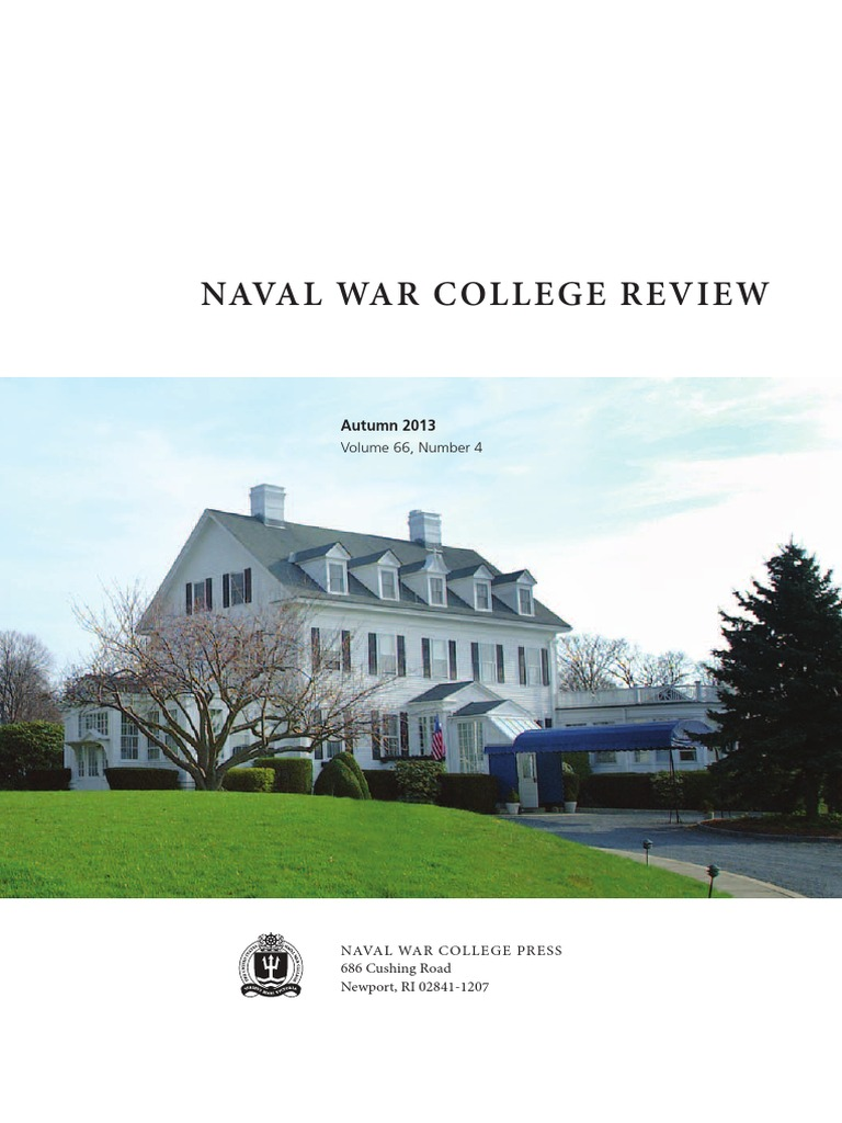 Naval War College Review Volume 66 Number 4 United States Navy Id Series Residual Current Circuit Breaker 2 Poleid Pole Thucydides