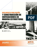 R-029 Reglamento Madera