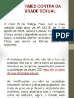 Dos Crimes Contra Da Dignidade Sexual Completo 02.09.2013