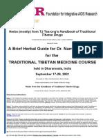 TIBETAN Herbs.doc