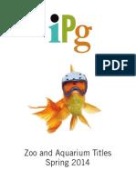 Spring 2014 IPG Zoo and Aquarium Titles