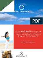ZELLKRAFT - Workout für Deine Zellen