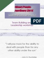 Team Building Leadership Skills