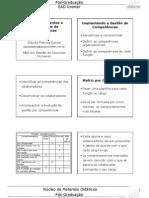 Gestão de Pessoas e Mapeamento por Competências - Aula 05