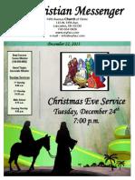 December 22 Newsletter