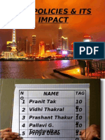 Sez Policies & Its Impact