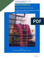 Syed Muhammad Naquib Al Attas Prolegomena to the Metaphysics of Islam Transl English Indonesian
