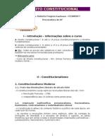 Constitucional - Anotações das aulas - Renato Vilela