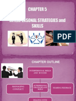 Chapter 5_interpersonal Strategies and Skills