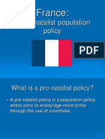 France Population Policy