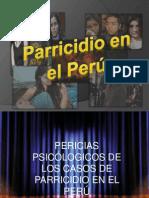 Parricidio en El Peru