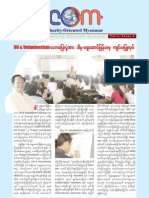 Charity-Oriented Myanmar Newsletter V1 I2 (Burmese Version)