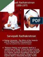 Sarvepalli Radhakrishnan, 1888-1975