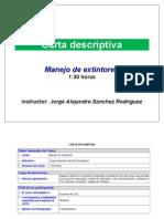 1. Carta Descriptiva (Impresa y Digital)